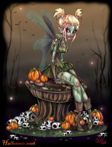 zombie_tinkerbell_by_noflutter