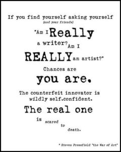 real writer real artist vs counterfeit